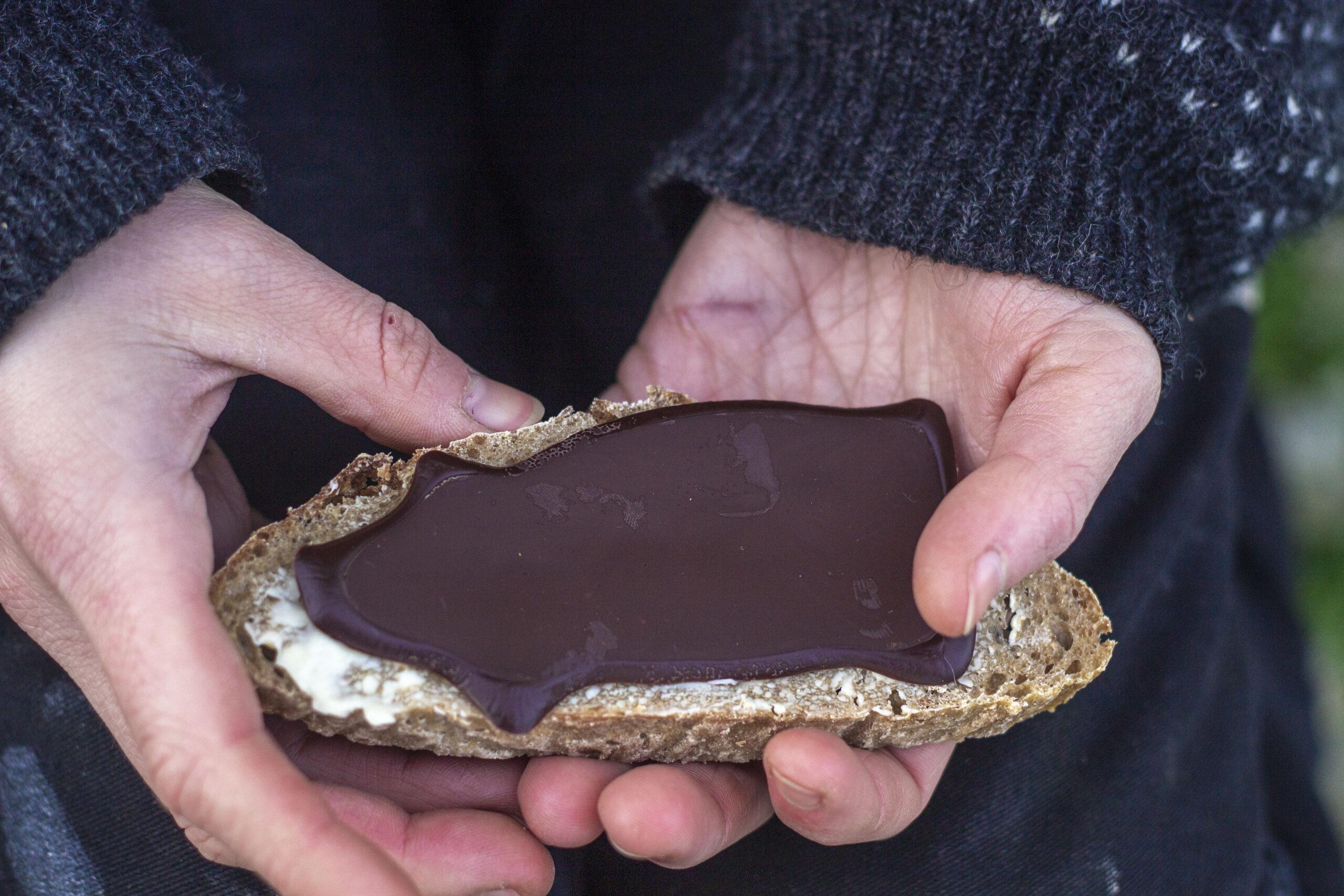Pålægschokolade-på-friskbage-boller