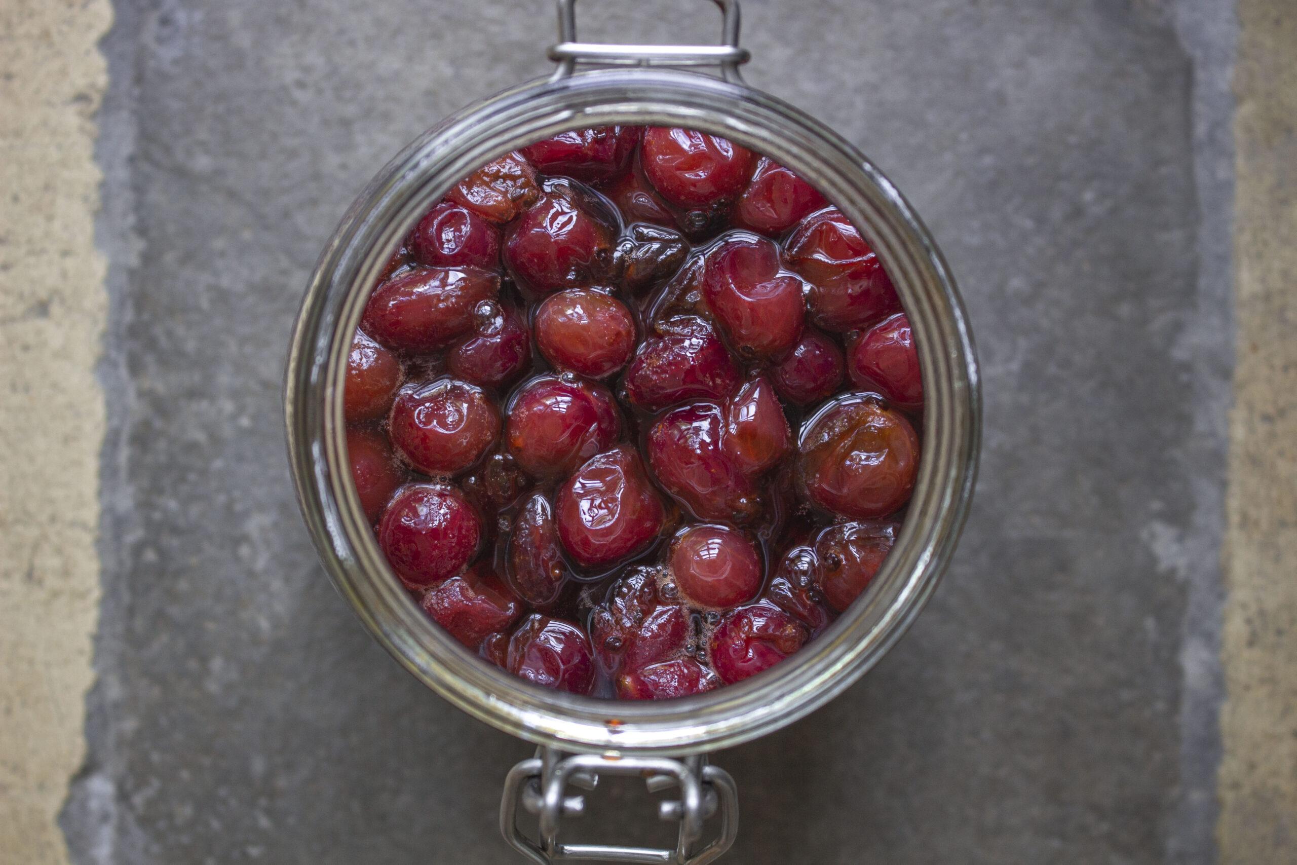 De skønneste syltede stikkelsbær