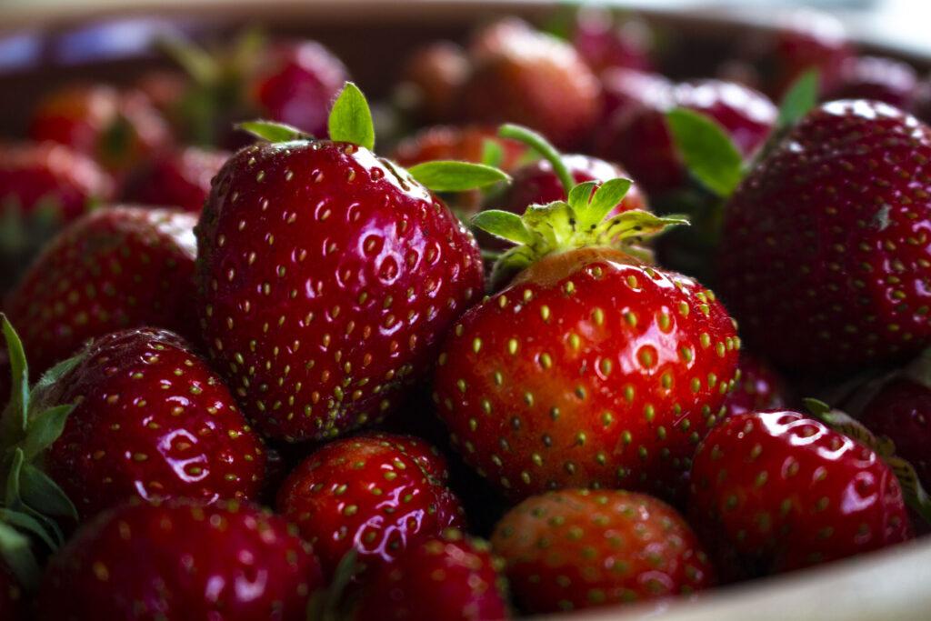 Brug frosne jordbær til jordbærgrød om vinteren